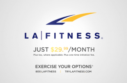 LA Fitness Commercial